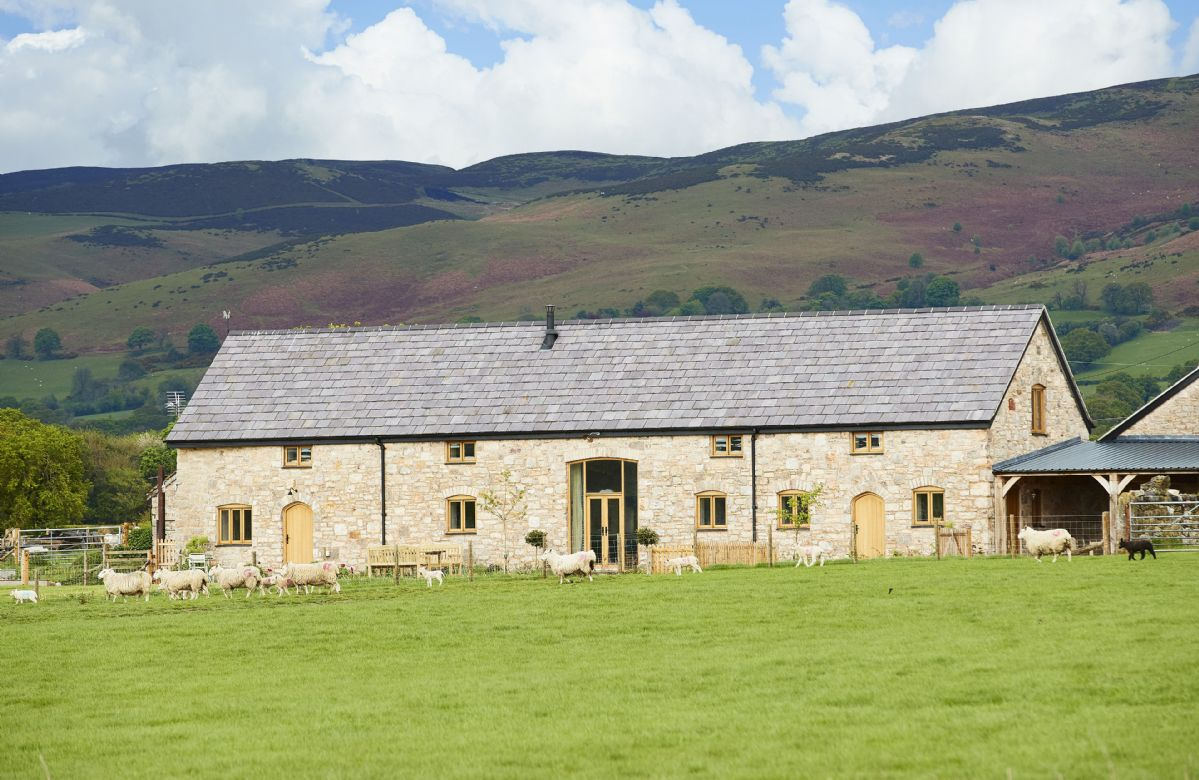 Click here for more about The Longbarn at Caerfallen