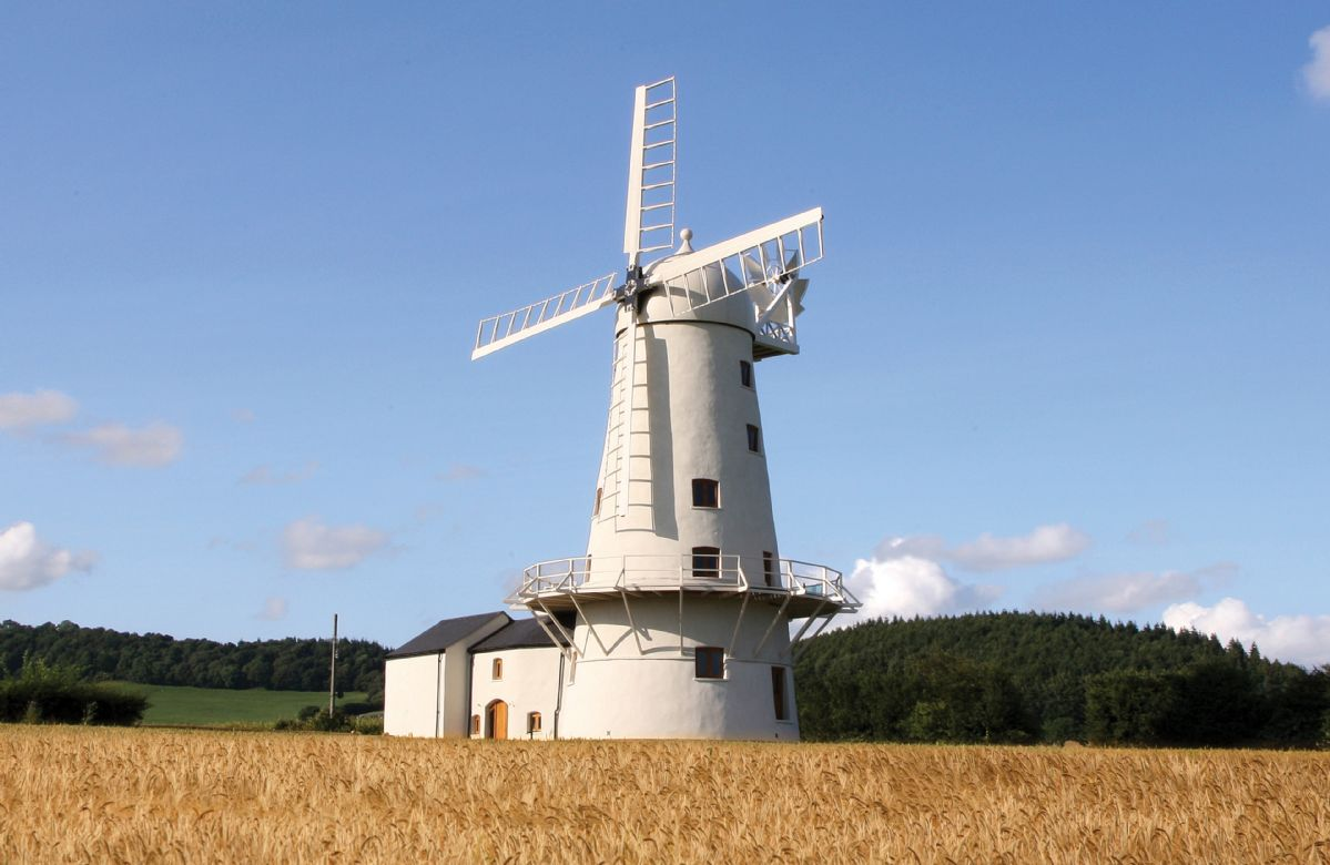 Click here for more about Llancayo Windmill