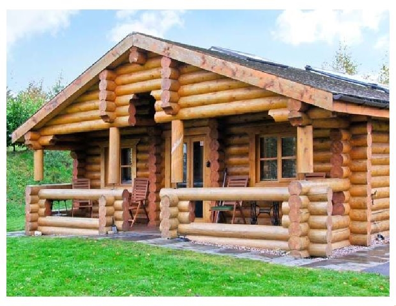 Click here for more about Cedar Log Cabin- Brynallt Country Park